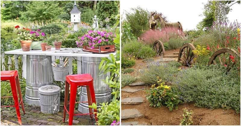30 Cheap DIY Backyard Landscaping Ideas