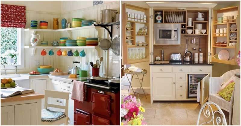 22 Unique Small Kitchen Ideas