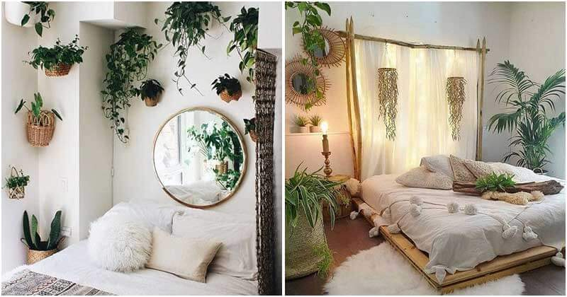 21 Mind-blowing Plant Headboard Ideas