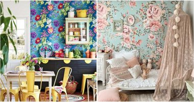 25 Appealing Floral Wallpaper Decor Ideas For Your Rooms