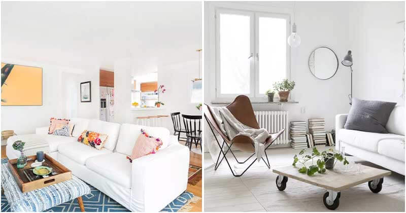 Beautiful and Simple Small Living Rooms