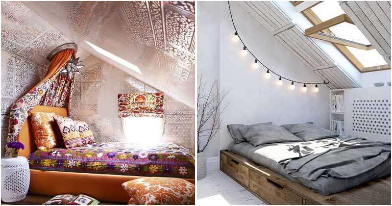 28 Cool And Dreamy Attic Bedroom Ideas