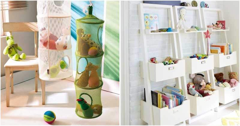 29 Best Toy Storage Ideas For Your Kids
