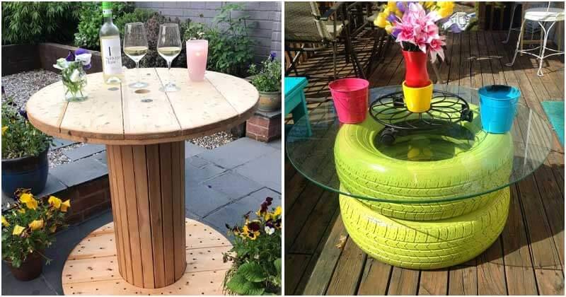 20 Eye-catching DIY Garden Furniture Ideas