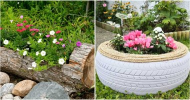 20 DIY Flower Garden Bed Ideas