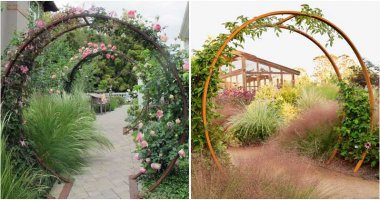 27 Spectacular Moon Garden Gate Designs