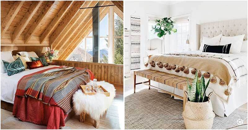 24 Pretty and Cool Styles For The Foot Of Your Bed