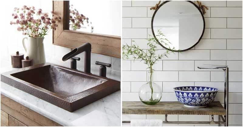 26 Inspiring Bathroom Sink Ideas