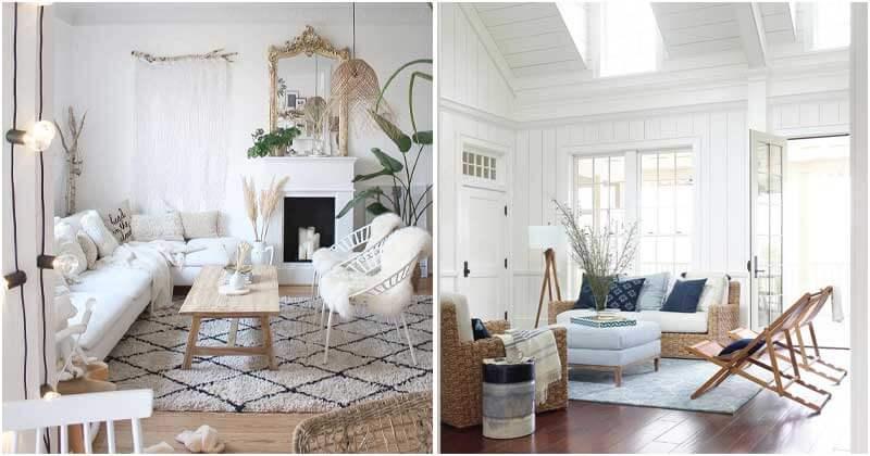 Stunning Beach House Living Room Designs