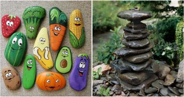 19 Lovely And Creative DIY Rock Projects For Your Garden