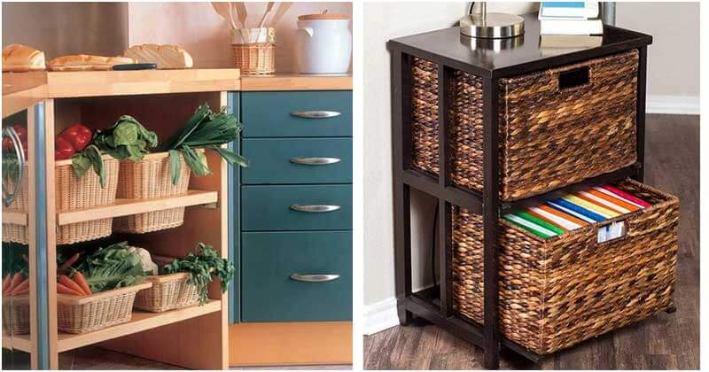 27 Wicker Basket Storage Ideas