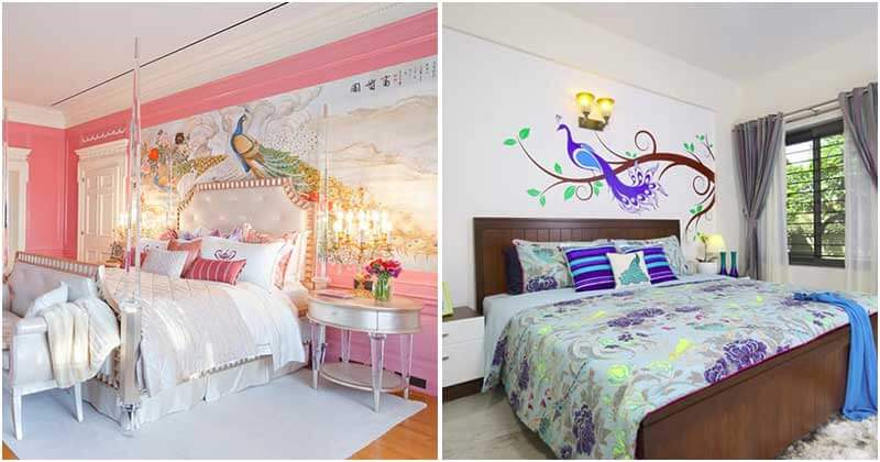 20 Adorable Peacock Ideas To Decor Your Bedrooms