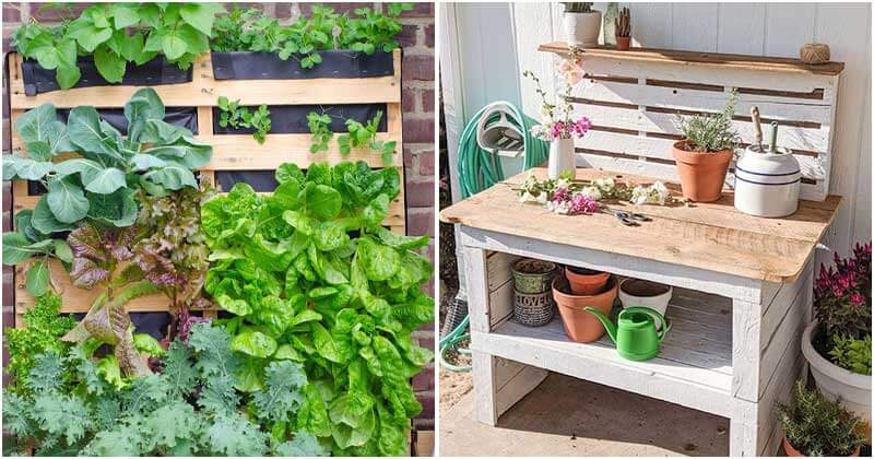 Gorgeous DIY Wooden Pallet Ideas For Your Outside Space