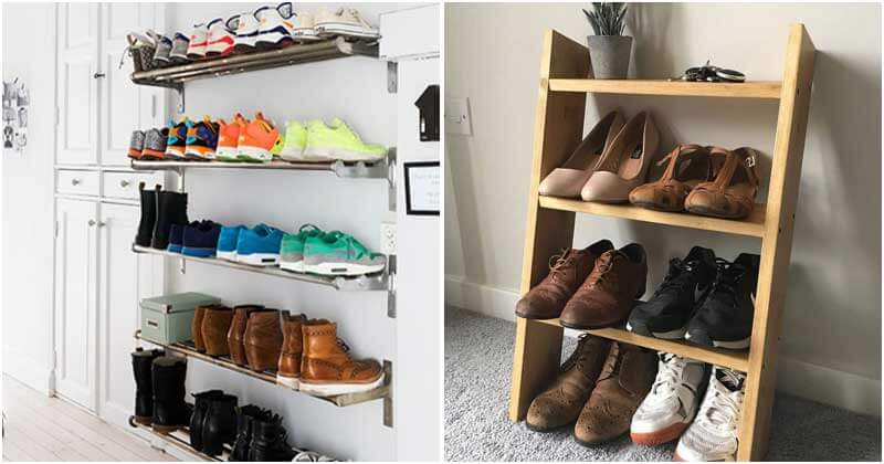 22 Amazing Entryway Shoe Storage Ideas