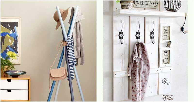 23 Clever and Stunning Ideas For Your Coat Rack