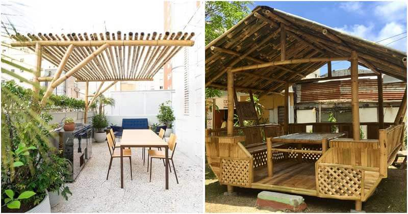 Bamboo Pergola Ideas To Liven Up Your Outdoor Space
