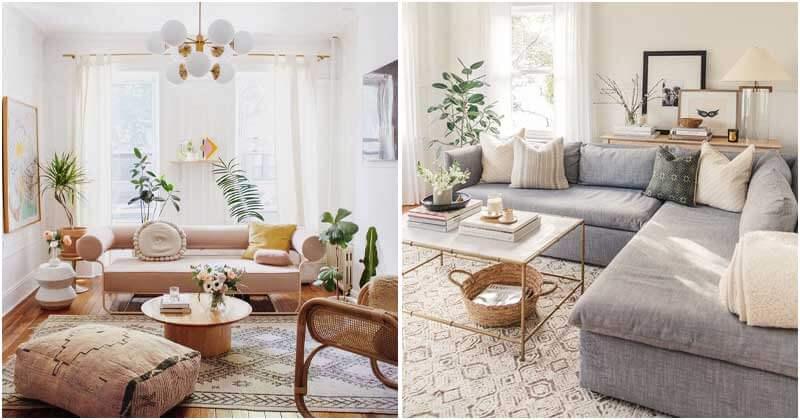 20 Fresh Small Apartment Living Room Designs
