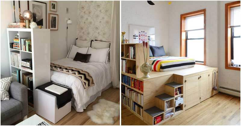 23 Bedroom Designs for Maximizing Your Small Space