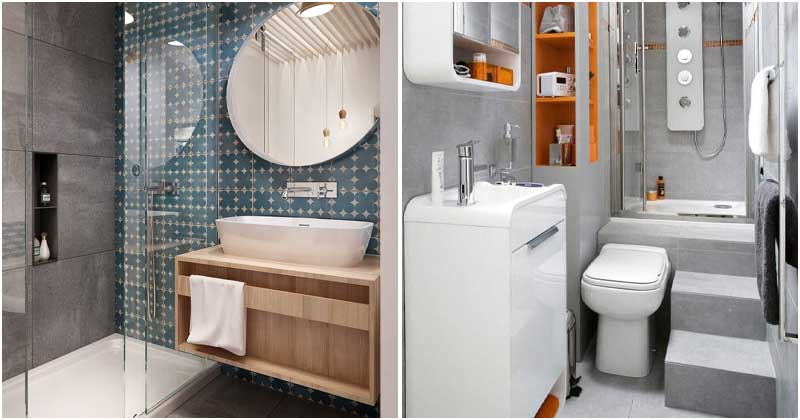 23 Small Bathroom Design Ideas