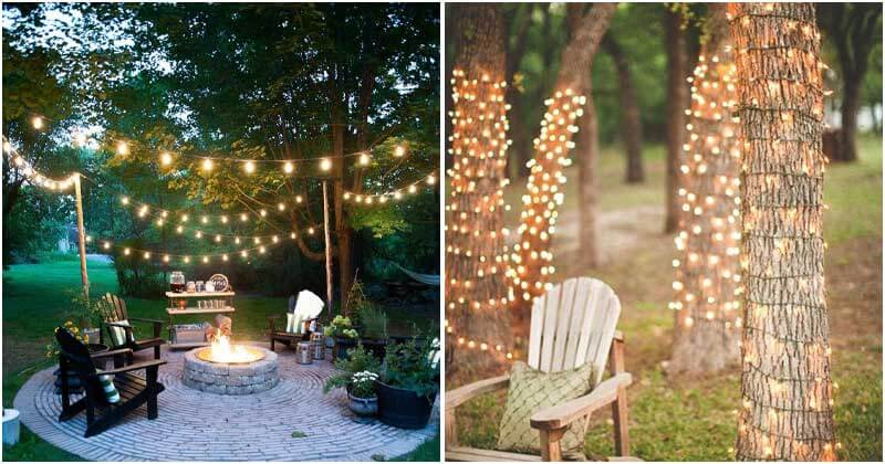 Stunning String Light Ideas for This Summer