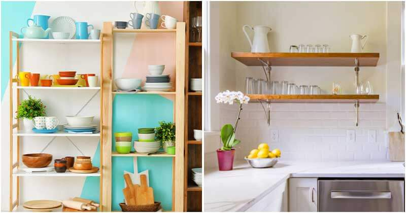 19 Charming and Functional Kitchen Shelving Ideas
