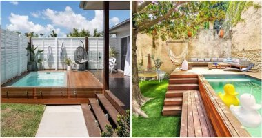 Charming Small Swimming Pool Ideas For Your Backyard