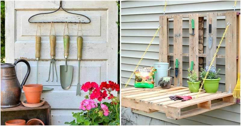 Creative and Easy DIY Garden Tool Storage Ideas