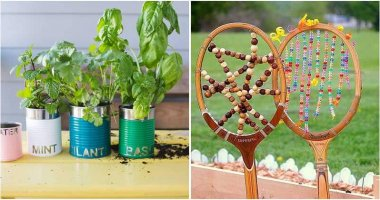 22 Cute DIY Garden Projects Made From Junk Items