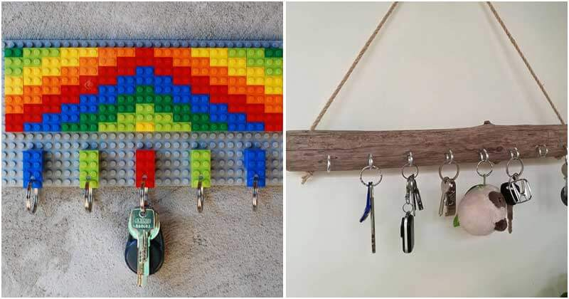 26 Unique Entryway Wall Key Holder Ideas