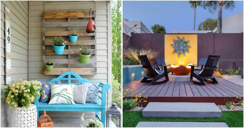 26 Beautiful Outdoor Wall Decor Ideas