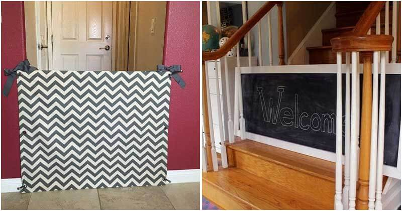 DIY Baby Gate Ideas To Keep Your Baby Safe