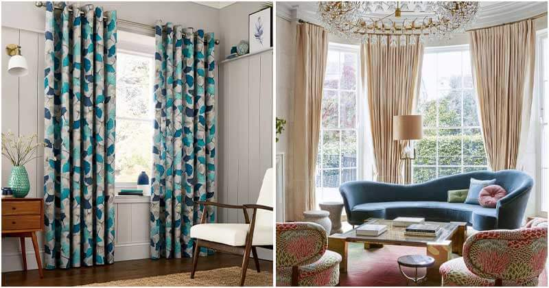 Living Room Curtain Ideas To Decor Your Interior