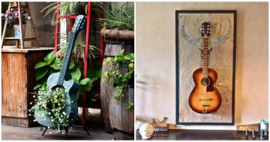 DIY Old Guitar Projects To Decor Your Home