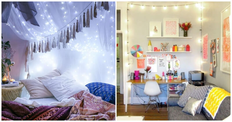 29 Creative Ideas to Decorate Your Home with String Lights