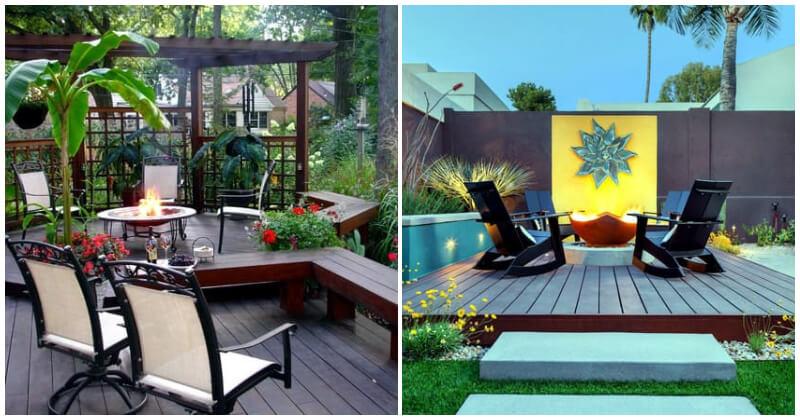 25 Shimmering Terraces and Garden Ideas