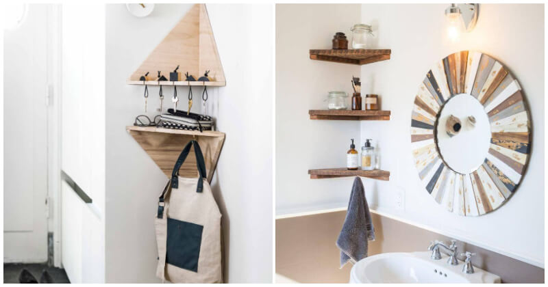 Clever Corner Shelving Ideas To Use Small Space In Efficiency