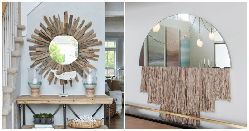 Mesmerizing Entryways with Mirror Ideas to Make Your Home More Special