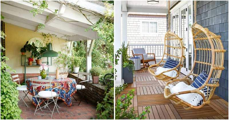 Simmering Porch Décor Ideas For Welcoming Summertime