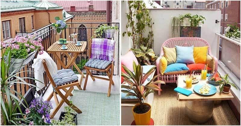 30 Balcony Décor Ideas For This Summer