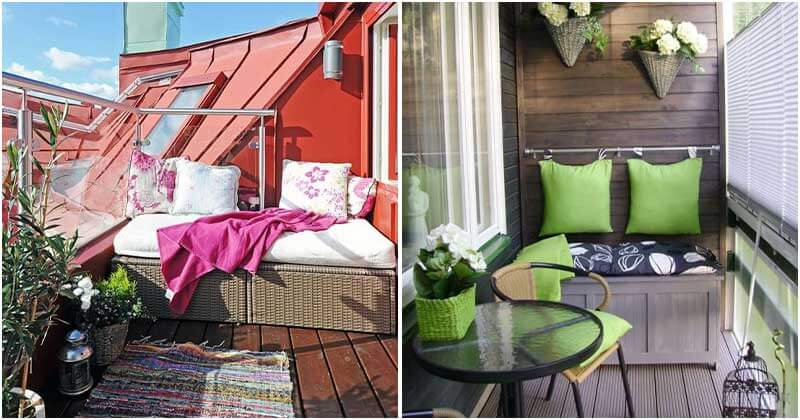 Balcony Storage Ideas To Save Your Space