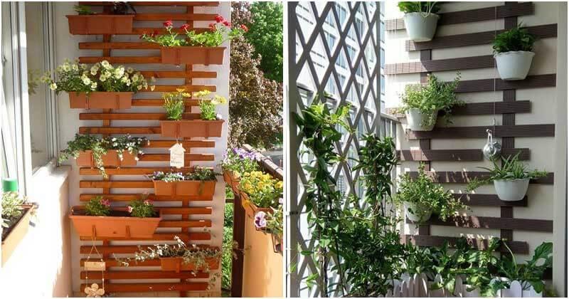 Vertical Balcony Garden Ideas To Save Your Space