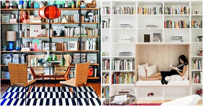 26 Shimmering Home Library Designs