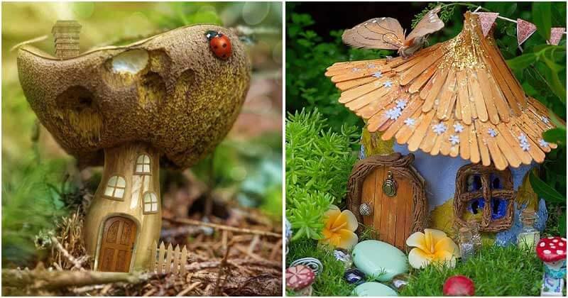 Lovely DIY Fairy Garden Ideas