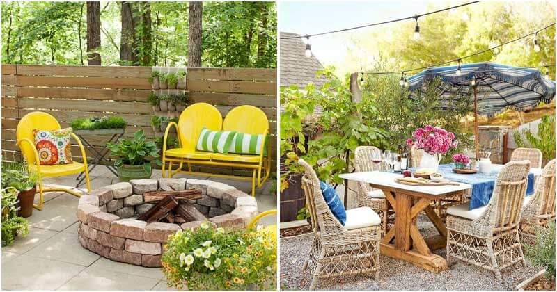 27 Striking Backyard Decor Ideas