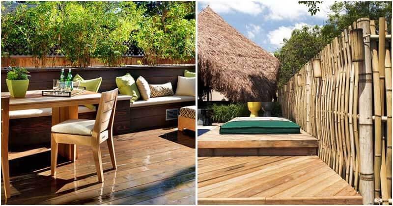 22 Decorative Bamboo Fence Ideas For Privacy In The Garden