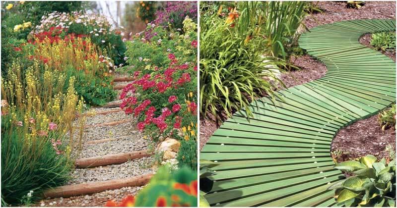 20 Unique Design Ideas For Garden Path