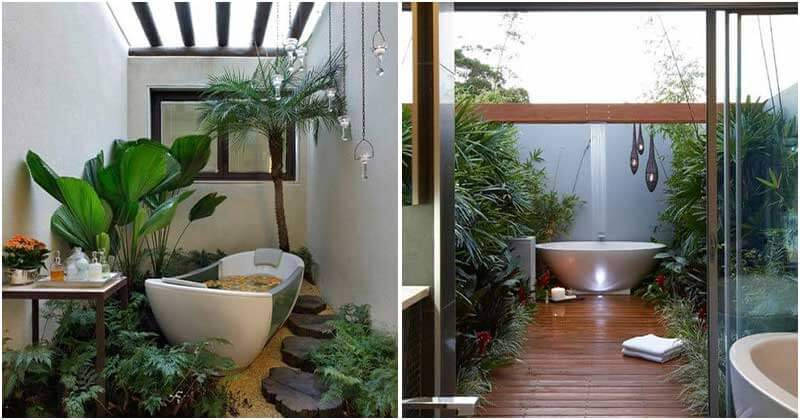 25 Mind-blowing Tropical Design Ideas For Your Bathroom
