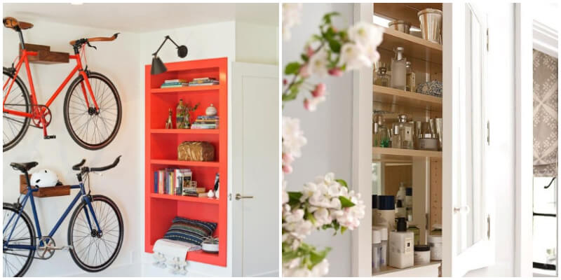 25 Clever In-wall Storage Ideas For Your Home