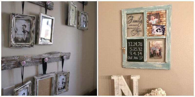 23 Rustic Frame Ideas To Decorate Your House