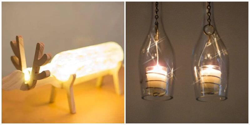 Creative DIY Bottle Lamps Decor Ideas To Decor Your Home